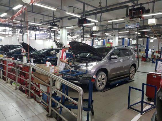 Xưởng dịch vụ Honda Mỹ Đình