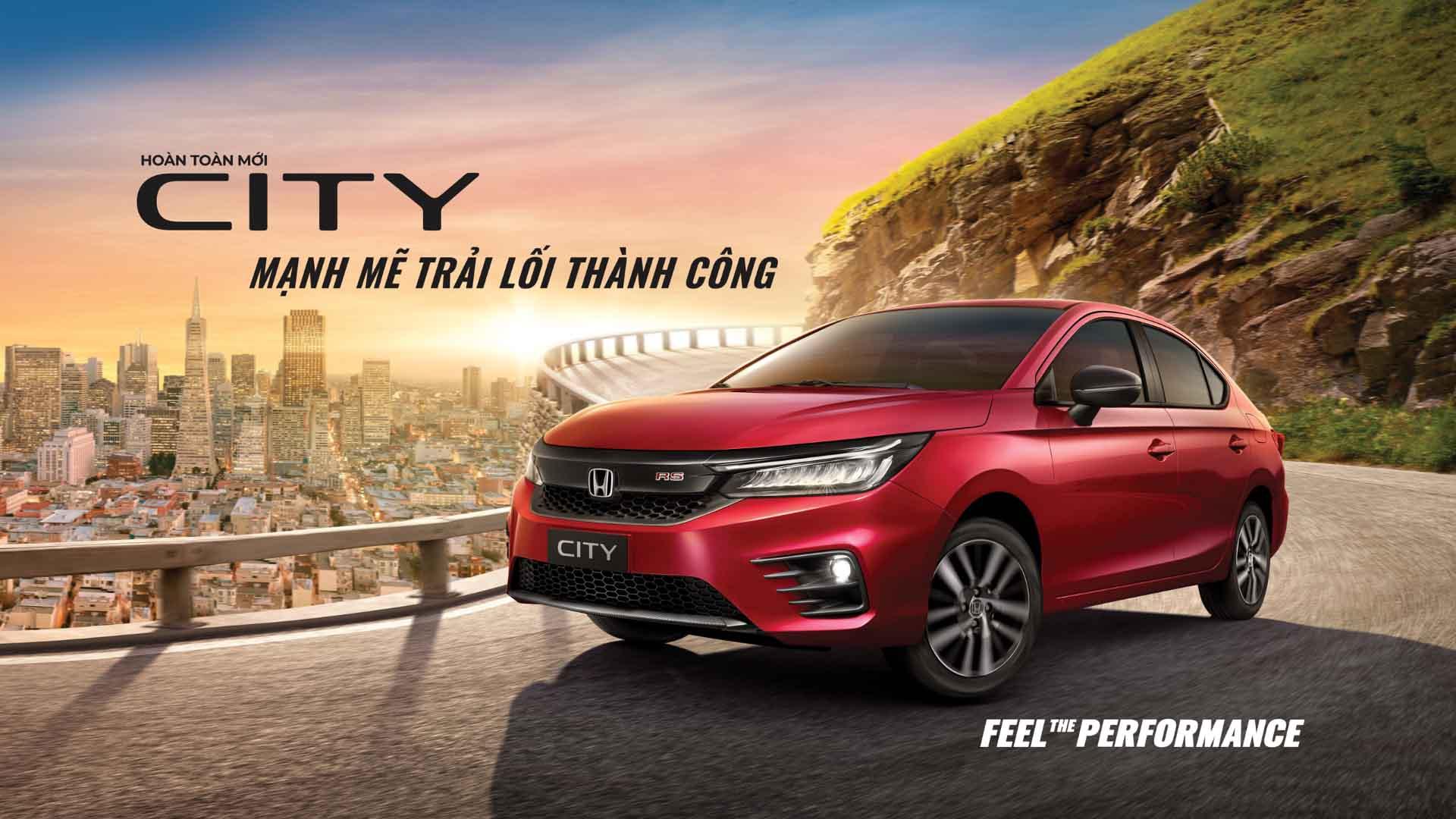 Honda City all new 1 bai viet san pham
